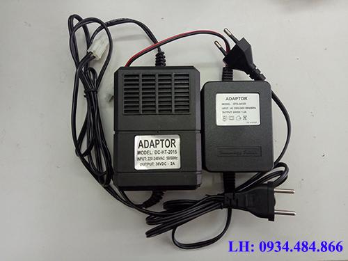 Thiết bị bộ chuyển nguồn Adaptor 36V máy phun sương.