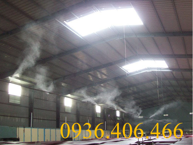 Hệ thống phun suong công nghiệp