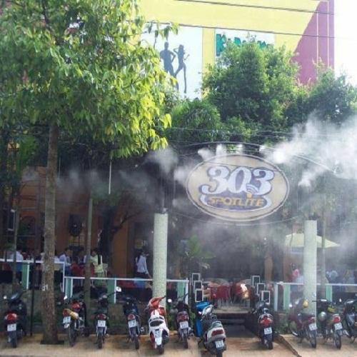 Hệ thống phun sương quán bia