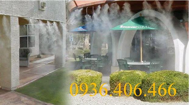 Hệ thống phun sương nhà hàng khách sạn