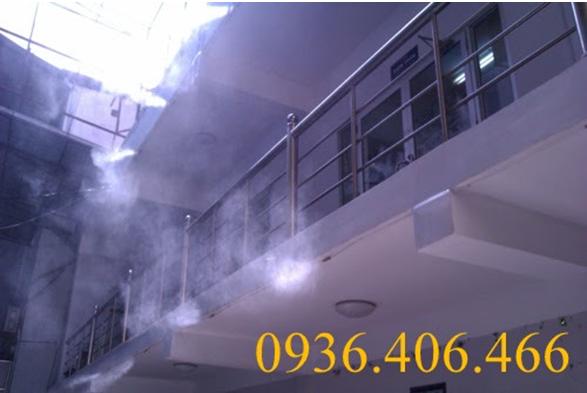 Hệ thống phun sương trường học