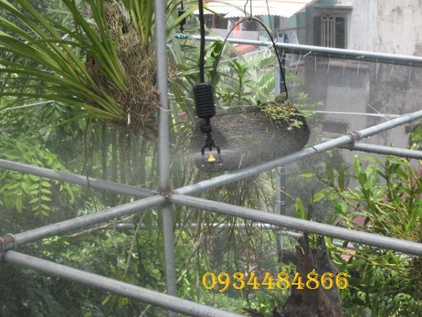 lắp đặt hệ thống phun sương tại Hà Nội