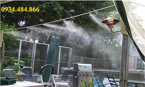 lắp đặt máy phun sương tại Điện Biên