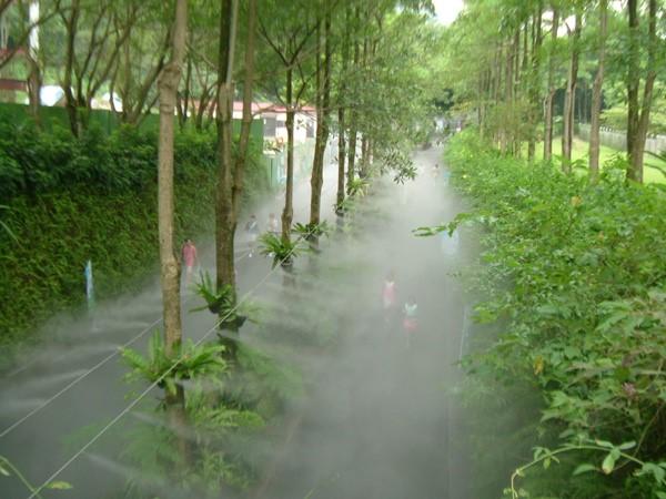 Máy phun sương sân vườn diện tích rộng
