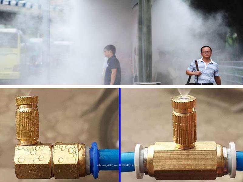 chọn đầu béc phun cho máy phun sương phù hợp mục đích sử dụng
