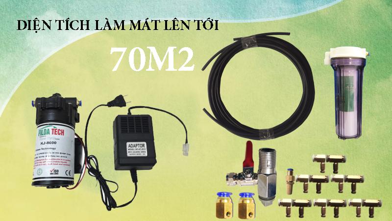 Ứng dụng máy phun sương 36v KJ-8600