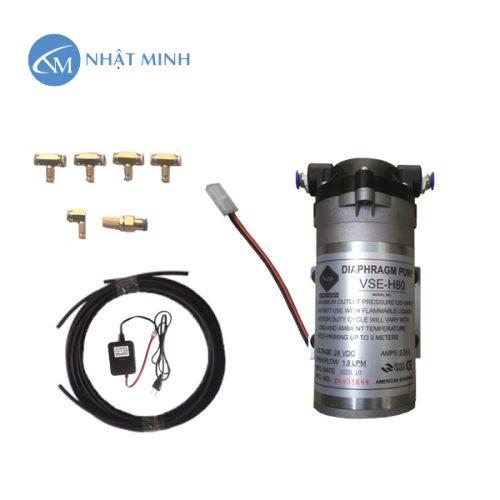 Hệ thống phun sương 5 béc VSE-H80 sử dụng nhiều nhất